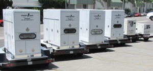 Cinerep Tow Generators from  45 unit fleet