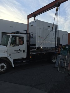 FL60 Freightliner with 1400 gen mount