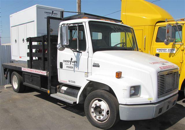 Truck Mounted 1800 amp generator